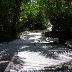 accés privatif à la plage depuis la villa