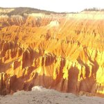 Cedar Breaks @ Sunset with an outdated Cell Camera.