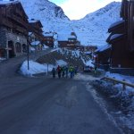 Morning Walk to the piste 2/3