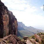 Reaching the top of Roraima
