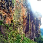 Going up the walls of Roraima