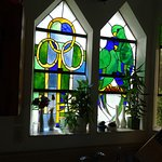 Lot's of beautiful stained glass