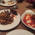 Pork Izgara and meatballs - only remembered to take pictures half way through eating!