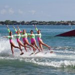 There are a number of these water ski ballet moves that are beautiful to watch.