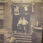Display, Henry Street Settlement, New York