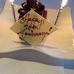 They helped us to celebrate our anniversary :)