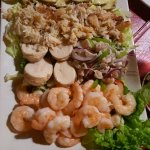 opening seafood platter to share