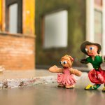 Make clay figures for a stop motion animation video