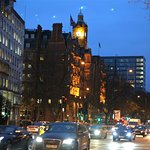 The Landmark clock tower from Marylebone Road