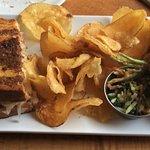 Generous reuben sandwiches. Cut, not shaved, corned beef.
