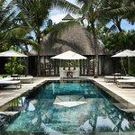 Overview of pool area Samuan Siki, 3 bedroom villa