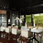 Dinning area at Samuan Siki facing to the courtyard