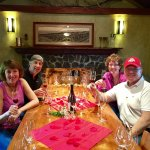 Our private tasting on Valentine's Day