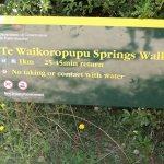 Walking Time notice