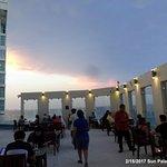roof top Oriental restaurant