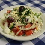 Greek Salad anyone? Made the traditional way