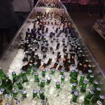 Ice cold beverages at Rudy's