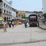 centro de Cartagena. Horrible