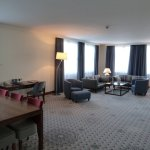 Radisson Blue Wroclaw suite 2/3