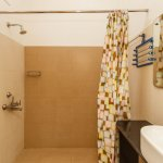 Clean, modern bathrooms in each room