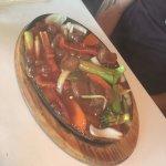 Sizzling Fillet Steak with Peking Sauce