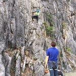 Moutain climbing.