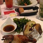 Roasted Chicken, Mint Mojito & Fruit Punch