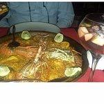 Paella at Toros Restaurant Accra