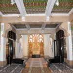 Beautifully tiled lobby
