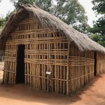One of the types of huts used in village life