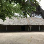 One of the different types of African huts