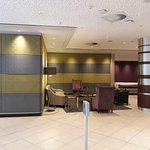 Beautiful and very large lobby/reception area!