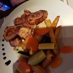 Magret de canard frites maison