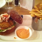 Crab & Lobster Burger (1000 island on the side)