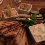 Delicious Mediterranean platter