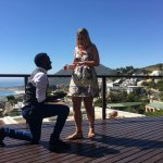 Proposal on the Bordeaux apartment balcony ☺️
