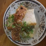 Pork belly and lamb croquettes