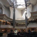 Mall on the bottom floors
