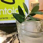 Gin Tonic con aceite de oliva de la tierra