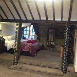 River/Castle room at Cornerstones, Llangollen.