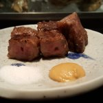 WAGYU beef cubes