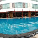 Great pool, always in the sun