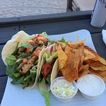 Here are the yummy fish tacos
