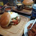 That's a 'proper' burger (Ladypool Road)