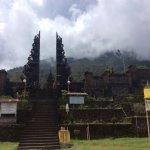 Temple at base
