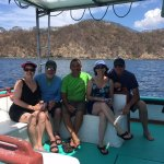 Snorkeling adventure with friends near Playa del Coco, Costa Rica!