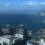 Not a view from the hotel, from the office but shows how great the views are in wellington