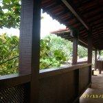 un balcon hacia la naturaleza