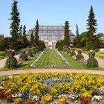 Botanischer Garten um die Ecke des Hotels