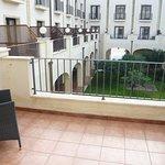 Balcony from Room 110
